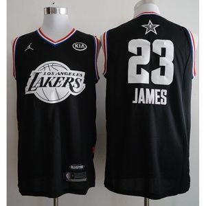 Los Angeles Lakers LeBron James Jersey (15)
